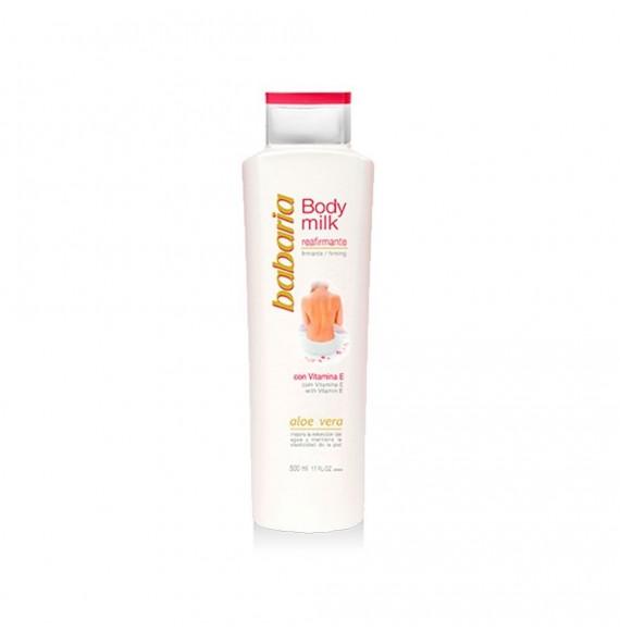 BABARIA BODY MILK REAFIRMANTE ALOE VERA 500 ML