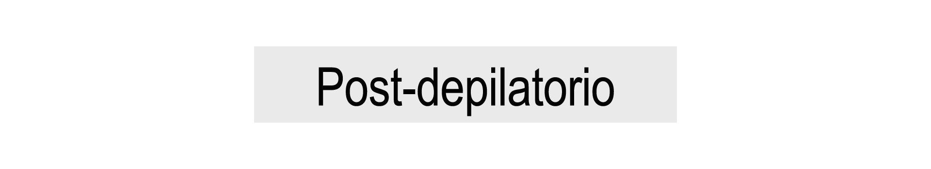 Post-depilatorio