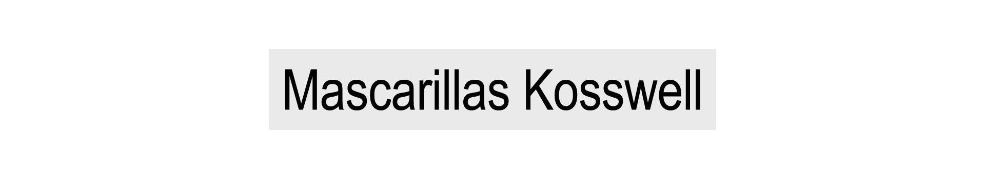 Mascarillas KOSSWELL